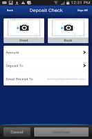 Screenshot of EagleBank Business Mobile