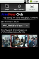 Screenshot of FreeWays Club