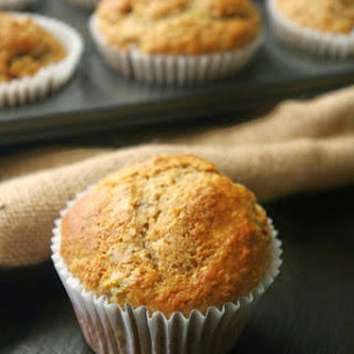 Banana, Maple Syrup And Cinnamon Muffins