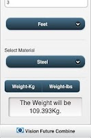 Screenshot of WeightCalc1.3