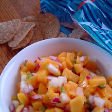 Fresh & Healthy Mango and Cucumber Salsa