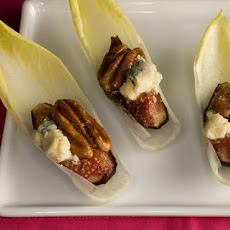 Endive with Figs, Blue Cheese, and Pecans