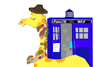 Give the Giraffe a Scarf: Tom Baker