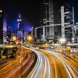 HK6 by Jovi Mirabueno - City,  Street & Park  Vistas
