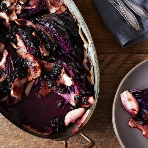 Wintery Braised Red Cabbage, Plus Some Jelly