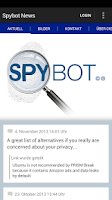 Screenshot of Spybot - Search & Destroy