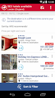 Screenshot of Hotel Search HRS (New)