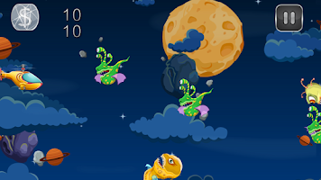 Screenshot of Space Choppers Vs Bird Clans