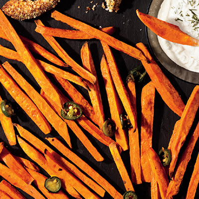Spicy Jalapeño Sweet Potato Fries
