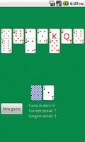 Screenshot of Solitaire Golf HD