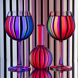 Multicolor by Rakesh Syal - Artistic Objects Glass