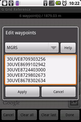 GPS Grid Reference - Full - screenshot