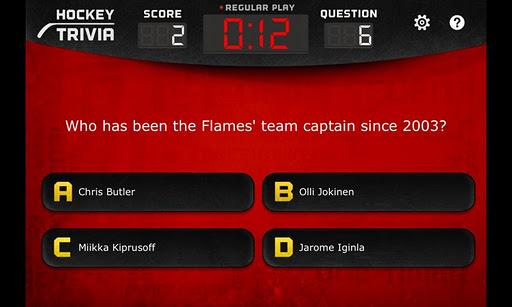 【免費解謎App】Hockey Trivia Lite-Flames-APP點子