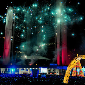 Happy New Years, Toronto Canada by David Chu - Public Holidays New Year's Eve ( @go4david @city tv @new years eve 2014,  )
