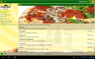 Screenshot of Bringbutler - Pizza, Pasta, ..