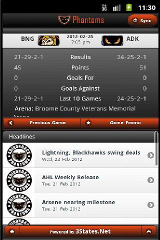 Phantoms Hockey