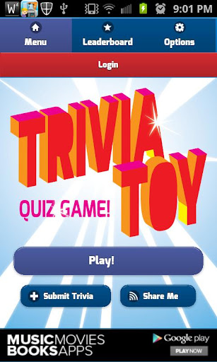 Trivia Toy Quiz Game