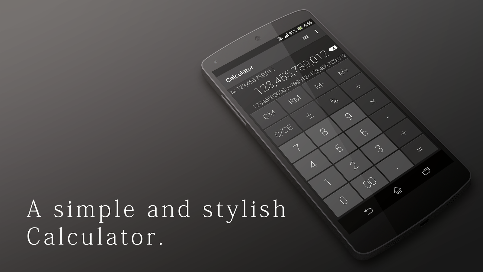Calculator - Simple & Stylish Screenshot 0