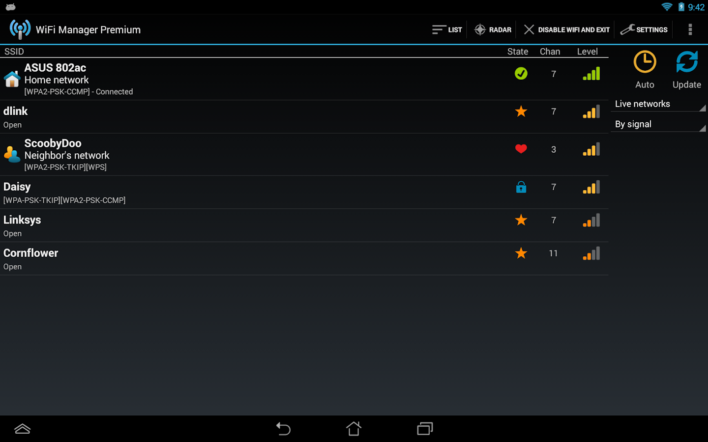 WiFi Manager Screenshot 9