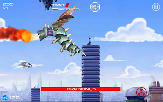 Screenshot of Jets Aliens Missiles Free