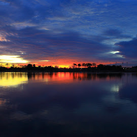 by Matty Gott - Landscapes Sunsets & Sunrises ( west australia, swan river, east perth )
