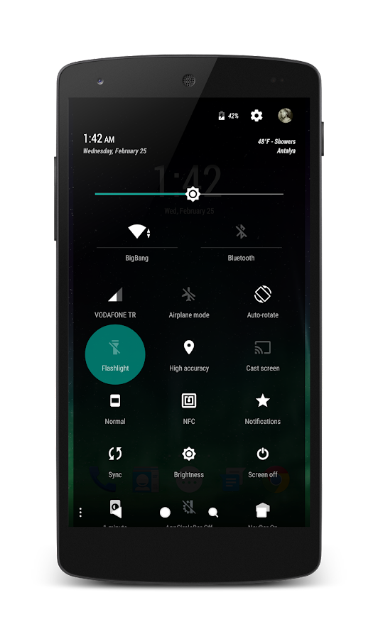 PitchBlack│Emerald CM13/12 Screenshot 3