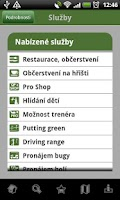 Screenshot of Czech Golf Guide