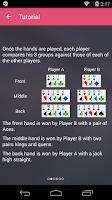 Screenshot of Chinese Poker