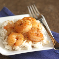 Spicy Orange Garlic Shrimp
