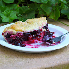 Blueberry Raspberry Pie