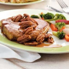 Maple-Pecan Pork Chops