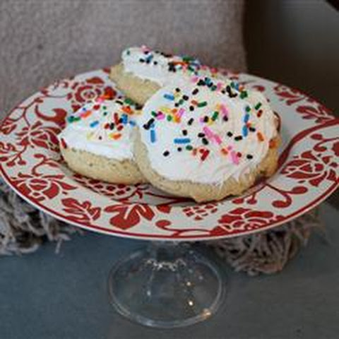 Big Soft Sugar Cookie Cakes