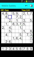 Screenshot of Mobile Sudoku (Free)
