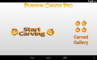 Screenshot of Pumpkin Carver Pro HD
