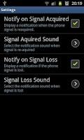 Screenshot of Signal Notifier