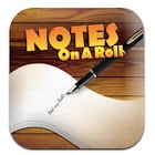 Notes on a Roll icon