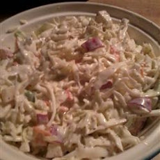Easy Apple-Carrot Coleslaw
