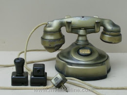 Cradle Phones - Western Electric 205  Conversion 1