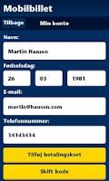 Screenshot of Sydtrafik Mobilbillet