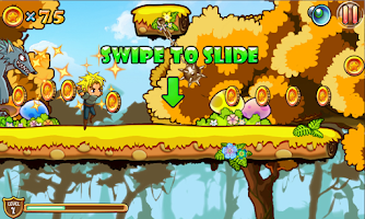 Screenshot of Giga Run