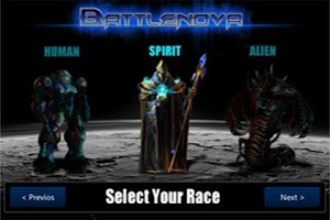 Screenshot of Battlenova