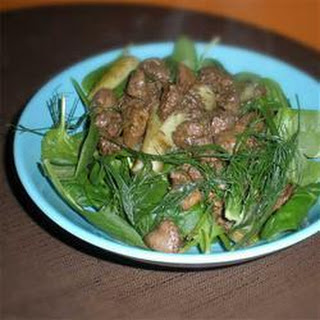 Spinach Chicken Livers Recipes