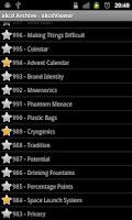 Screenshot of xkcdViewer