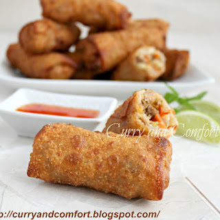 Savory Asian Egg Rolls (Throwback Thursdays)