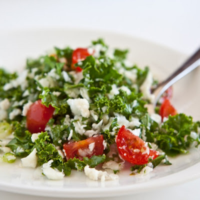 Cauliflower and Kale Salad (Cauliflower Tabouli)