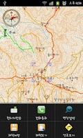 Screenshot of e산경표 전국 등산지도