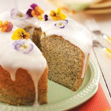 Poppy Seed Chiffon Cake Recipe