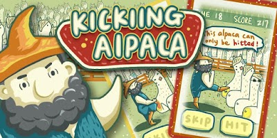 Screenshot of Kicking Alpaca