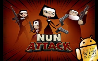 Screenshot of Nun Attack