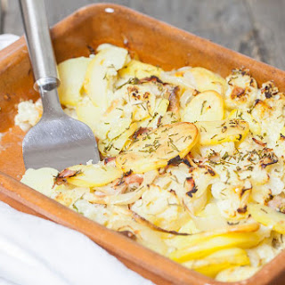 Cauliflower Casserole With Ham And Cheese